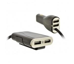 Cargador de coche 4 USB 9.6A