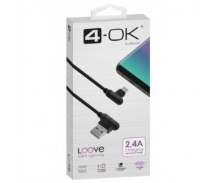 Cable Loove - USB a USB Type-C (1m / 2.4A)