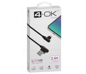 Cable Loove- USB a Lightning(1m / 2.4A)