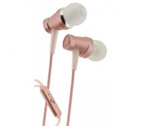 Ear Metal - Auriculares estéreo con micrófono