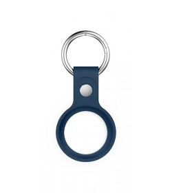 Llavero Bolso - Funda para airtag de silicona con colgante - Color Azul