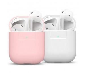 Pack 2 fundas para Airpods Colores Rosa/Blanca