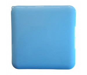 Funda para Mascarilla - Color Azul - Con cordon para colgar