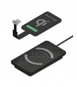 Pack Qi - Base + receptor Micro USB